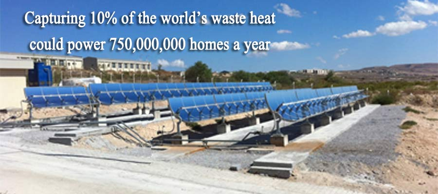 Capture the world's waste heat
