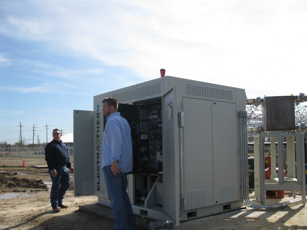 Green Machine waste heat to power generator is installed at the University of Louisiana