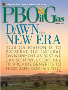 PBOG Magazine Cover When Black Gold Turns Green
