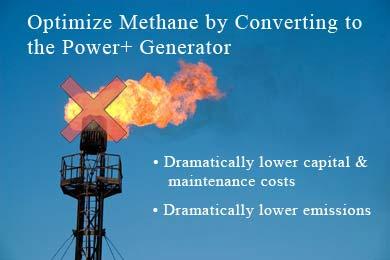 Eliminate Methane Flare