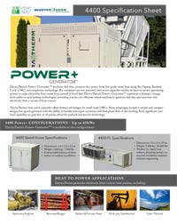 Power+ 4400 Spec Sheet