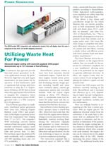 Utilizing Waste Heat for Power