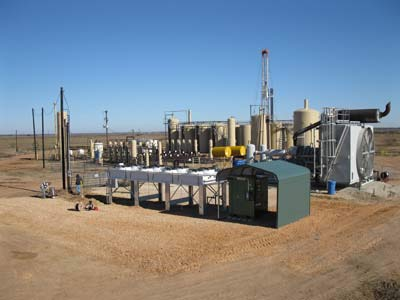 Waste Heat Power Generation At A Stationary Engine Gulf